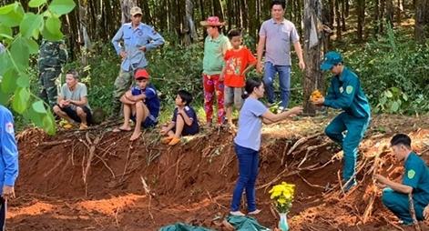 Bình Phước quy tập 19 hài cốt liệt sĩ tại Lộc Ninh