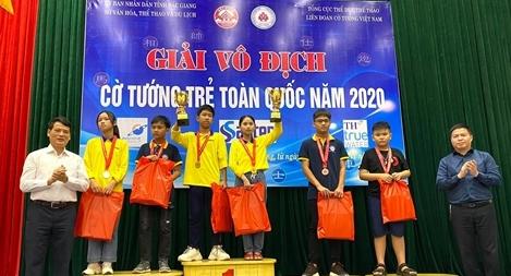 Bế mạc giải cờ tướng trẻ toàn quốc 2020: Đoàn TPHCM thắng lớn!