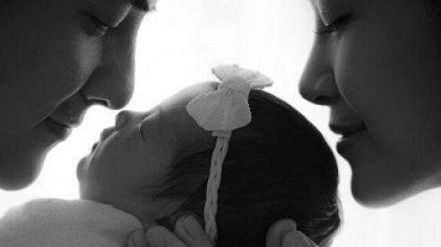 Đông Nhi tiết lộ tên và hình ảnh cận cảnh của con gái
