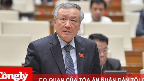 Chánh ánTANDTC Nguyễn Hòa Bình: Không có việc chỉ đạo án trong xét xử