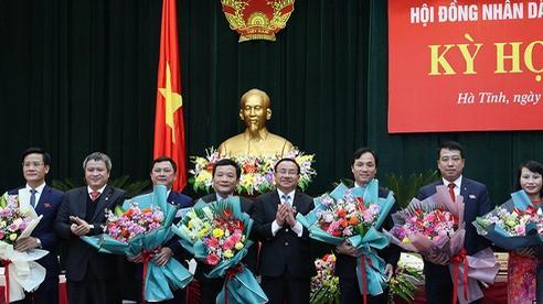 Bí thư Tỉnh ủy Hà Tĩnh được bầu làm Chủ tịch HĐND tỉnh