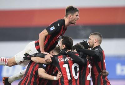 Tổng hợp vòng 10 Serie A: AC Milan duy trì vị thế dẫn đầu