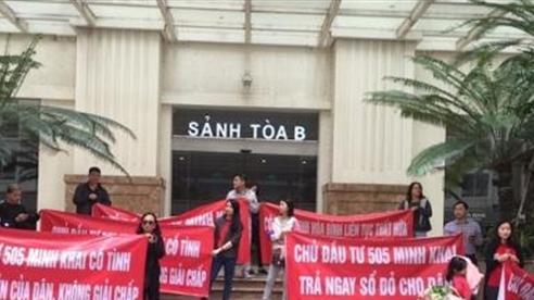 Hà Nội làm rõ khiếu nại của CĐT chung cư dát vàng