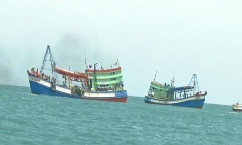 Vụ ngư dân tố tài công chém, đẩy 4 người xuống biển: Làm rõ 2 thuyền viên mất tích