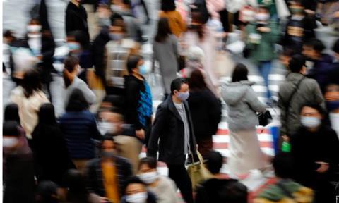 Thủ đô Nhật nâng mức cảnh báo lên cao nhất vì Covid-19