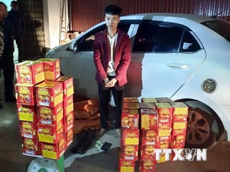 Bắc Giang: Liên tiếp bắt giữ các vụ vận chuyển pháo nổ trái phép