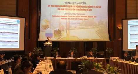 Thu hút nguồn vốn quốc tế cho Chương trình điện khí hóa nông thôn