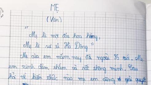Cậu bé lớp 4 viết văn: 'Mẹ như sư tử. Sau này, em thà FA còn hơn lấy một người vợ nghiêm khắc như mẹ'