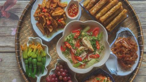 Mâm cơm cuối tuần 7 món ngon đẹp mĩ mãn, các mẹ tham khảo làm theo thôi!
