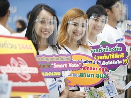 Thái Lan tổ chức cuộc bầu cử địa phương đầu tiên sau 6 năm