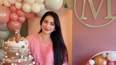 Hoa hậu Phạm Hương tổ chức sinh nhật cho con trai Maximus