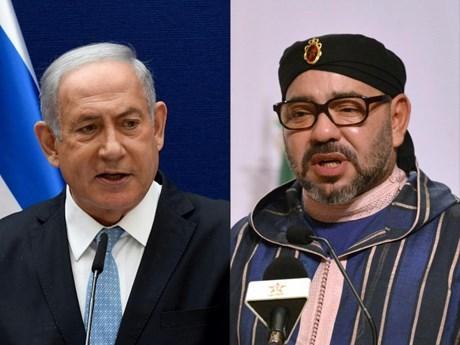 Lãnh đạo Israel, Maroc điện đàm thúc đẩy thỏa thuận bình thường hóa
