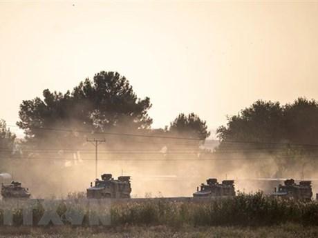 Thổ Nhĩ Kỳ rút quân khỏi căn cứ quân sự ở Tây Bắc Syria