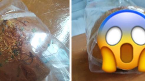 Nữ sinh hí hửng mua chiếc bánh 10 nghìn, cắn thử một miếng phát hiện sự thật 'đứng tim' bên trong