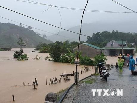 [Photo] Bão số 9 càn quét qua Quảng Nam, Phú Yên, Quảng Ngãi, Kon Tum