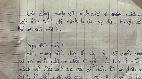Học trò lớp 6 viết tâm thư nghỉ chơi cực lầy lội: 'Mong cậu sẽ quên mình, và coi mình như con điểm 0'