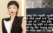 Tóc Tiên khiến netizen xôn xao khi sử dụng từ ngữ nhạy cảm, có phần thô thiển ngay trên MXH