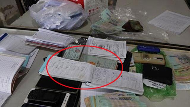 Bản tin cảnh sát: 9 quyển sổ bí ẩn của 'ông trùm' cho vay nặng lãi giá 'cắt cổ' 720%/năm