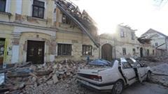 Động đất mạnh tấn công Croatia gây hàng chục thương vong