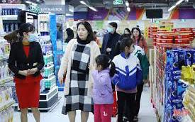 Ngày đầu năm mới 2021, nhu cầu mua sắm của người dân tăng