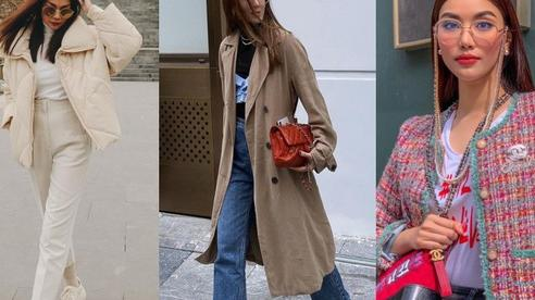 5 mẫu áo khoác sao Việt hay diện nhất mùa lạnh: Vừa ấm áp lại 'hack tuổi' hiệu quả