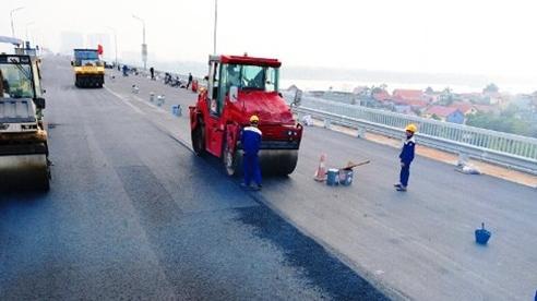 Còn 4 ngày nữa cầu Thăng Long, Hà Nội sẽ thông xe
