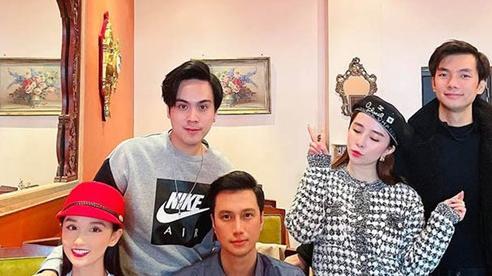 Gương mặt khác lạ của Việt Anh bên hội bạn thân showbiz