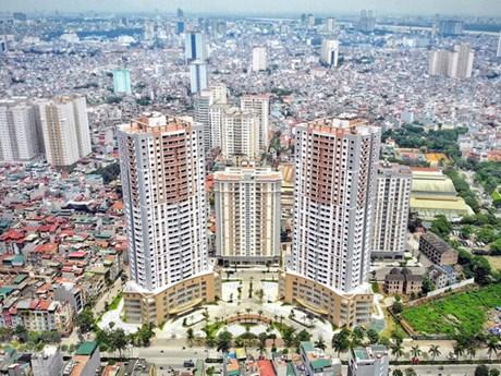Giá bán căn hộ sơ cấp khu vực ngoại thành Hà Nội đạt mức cao mới