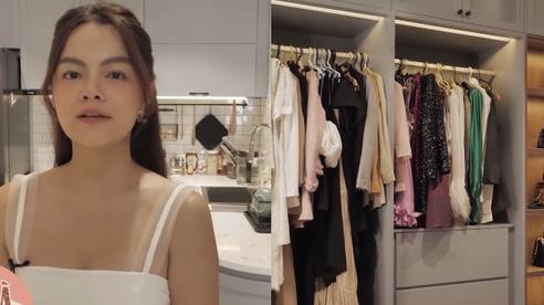 Căn hộ cao cấp màu trắng trang nhã của Phạm Quỳnh Anh: Nhiều đồ nội thất thông minh, phòng để đồ hiệu khiêm tốn