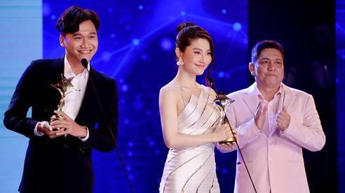 Diễm My 9X nghẹn ngào nhận giải thưởng đầu tiên nghiệp diễn