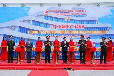 Ấn Độ hỗ trợ Việt Nam xây dựng Công viên phần mềm Quân đội