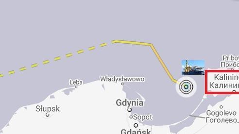 'Viện sĩ Chersky' về cảng Kaliningrad, Nord Stream-2 chưa thể hoàn tất?