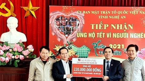 Nghệ An: Hơn 50 tỷ đồng ủng hộ Tết Vì người nghèo