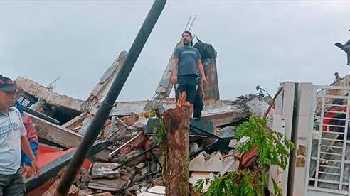 Động đất mạnh ở Indonesia, ít nhất 34 người thiệt mạng