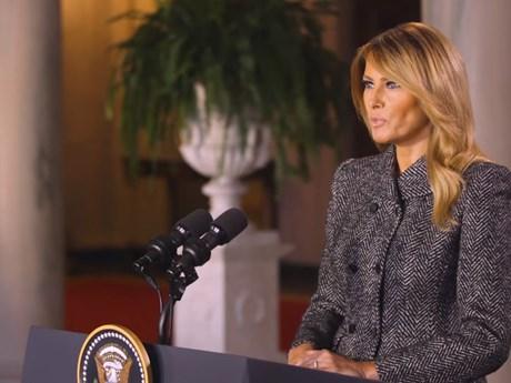 Đệ nhất phu nhân Melania Trump gửi thông điệp chia tay người dân Mỹ