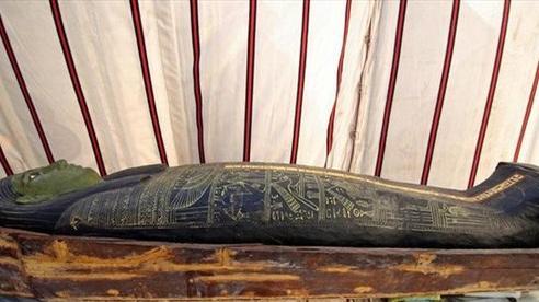 Phát hiện hàng chục quan tài cổ đại 3000 năm tuổi tại Ai Cập