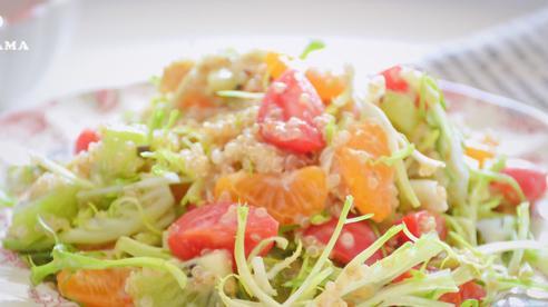 Để giảm cân siêu tốc đón Tết, chị em hãy ăn mỗi ngày món salad 'thần thánh' này