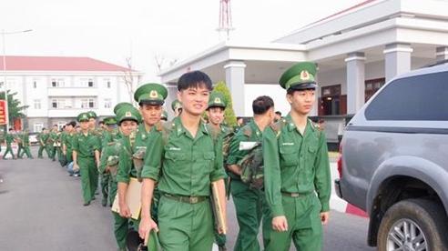 BĐBP các tỉnh, thành tổ chức tiễn quân hoàn thành nghĩa vụ quân sự trở về địa phương