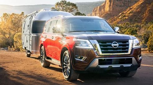 Nissan Armada 2021 nâng cấp diện mạo siêu xịn, giá hơn 1 tỷ đồng