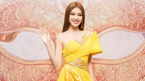 Á hậu Ngọc Thảo khiến fan phấn khích vì 'nét Miss Grand' trong chiếc váy xẻ cao tuyệt mỹ