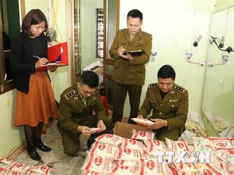 Ninh Bình: Tạm giữ gần 400kg mỳ chính nghi giả nhãn hiệu Ajinomoto
