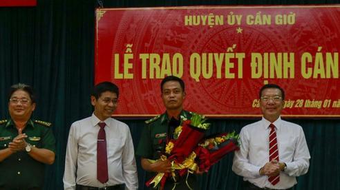 TP HCM: Huyện ủy Cần Giờ tổ chức lễ trao quyết định cán bộ