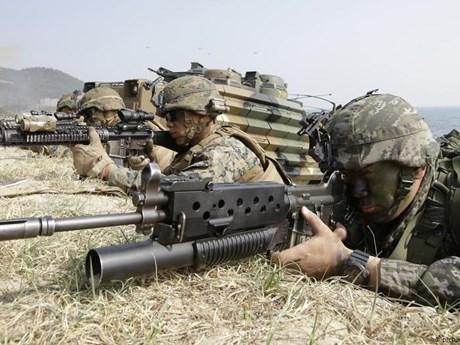 Hàn Quốc, Mỹ thảo luận cách thức tổ chức tập trận chung