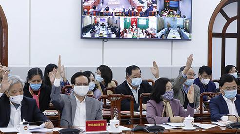 Cơ cấu Quốc hội khóa mới: Trung ương 207, địa phương có 293 đại biểu