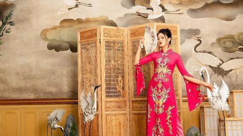 Á khôi 10X Thái Hà và mối lương duyên cùng áo dài Việt Nam