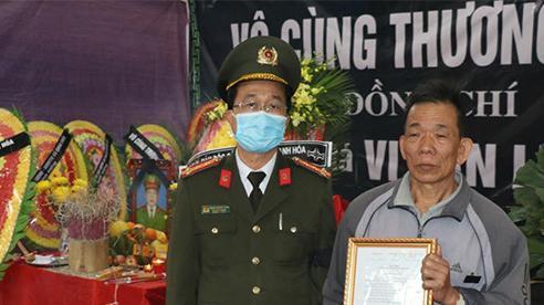 Truy thăng cấp bậc Trung Tá cho liệt sỹ Vi Văn Luân hy sinh ở Thanh Hóa