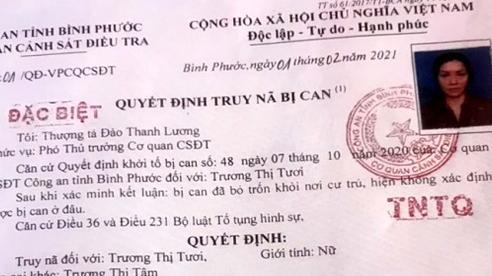 Giáo viên mầm non bị truy nã đặc biệt ở tỉnh Bình Phước đã ra đầu thú