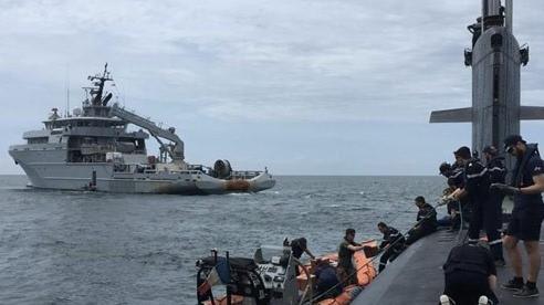 Tàu ngầm tấn công hạt nhân của Pháp tuần tra bất thường ở Biển Đông