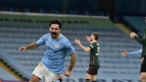 Man City vùi dập Tottenham, nâng cách biệt với MU lên 8 điểm