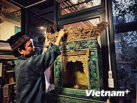 [Video] Người đưa những giá trị văn hóa Việt vào tác phẩm gốm thủ công